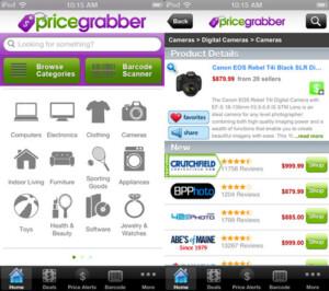 best apps - pricegrabber