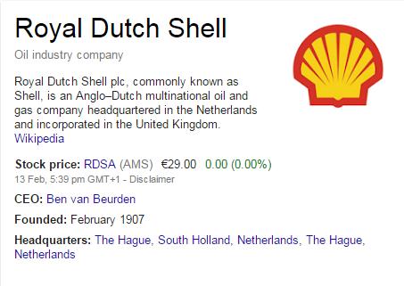 google tricks - stock