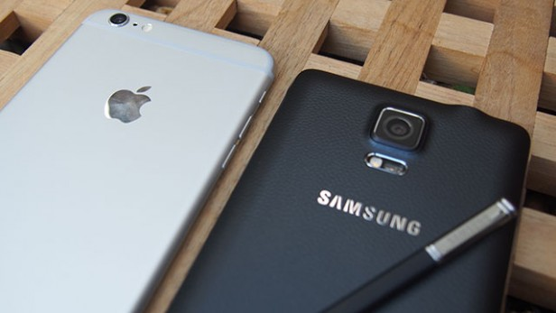iphone 6 plus vs note 4 - ending
