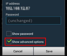 android authentication problem wifi